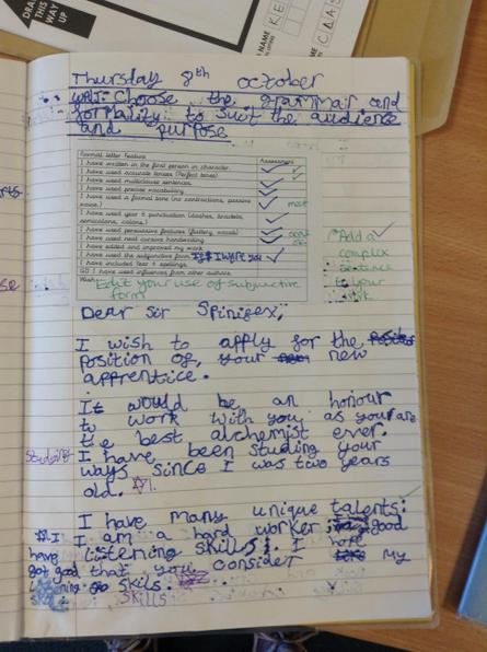 Great use of the modelled writing to inspire your own Daisy!