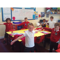 Class 4 completed 100 star jumps!