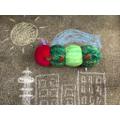 Chalks outside