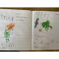 Superhero writing by Harrison