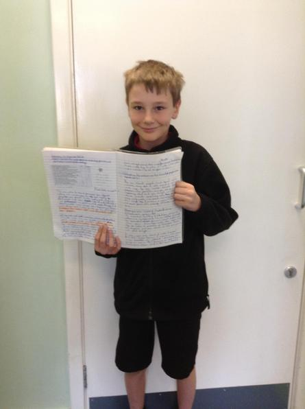A great factual account with a persuasive slant James!