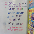 Class 3 counted to 100, 100 times!