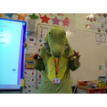 Miss Smith read the Enormous Crocodile!