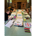Busy in VE day preparations