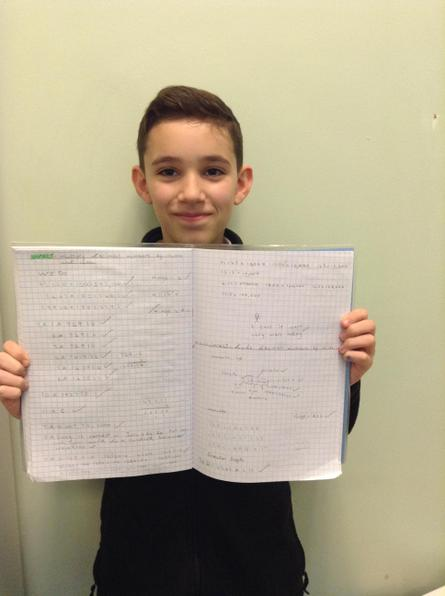Well done Jack P! You worked extremely hard on your decimals this week!