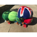 Skateboarding fun