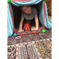 Building a superhero den