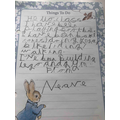 Letter from Neave
