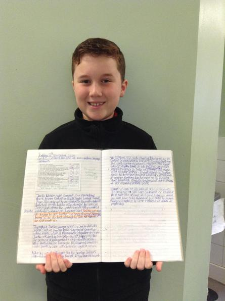 Colby wrote a very informative article all about the life of Jackie Robinson. Well done!