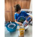 Charlie's VE day baking