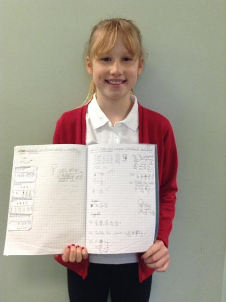 Some fantastic resilience with our fractions work this week Jody!