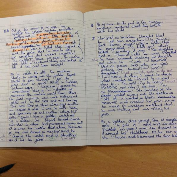 You improved your work with editing Maisie well done!