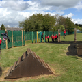 Class 7 completed 100 laps of the trim trail