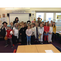 Class 9's non-fiction costumes