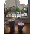 Easter trees by Louis