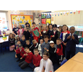 Class 10's non-fiction costumes