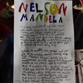 Theo's work on Nelson Mandela