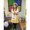 Miss Pullin as Goldilocks