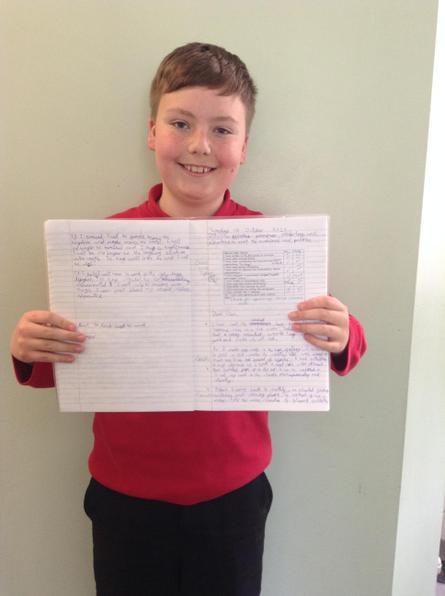 Fantastic informal letter Tyler!
