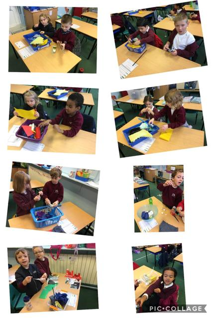 Exploring the properties of different materials.