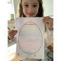 Megan's fantastic Easter egg design