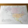 Leo's very detailed map