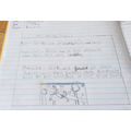 James' writing