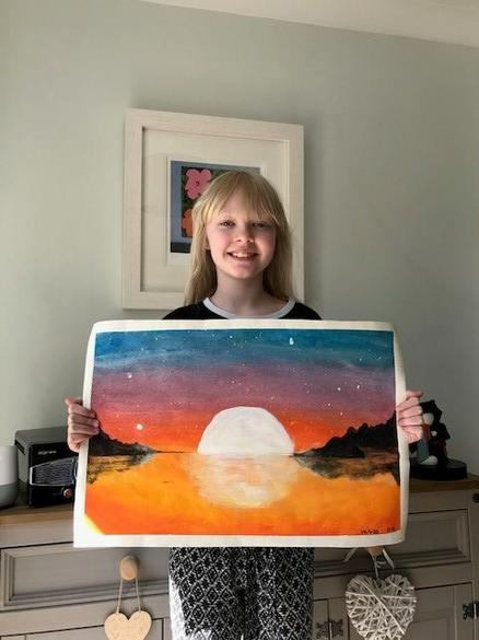 Harriett's stunning sunset!