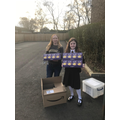 Helping St Chad's with 60 Easter Eggs - Thank you!