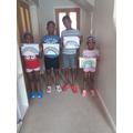 Ebube and family