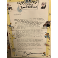 Mikhail's letter from David Walliams