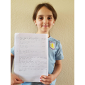 Mollie's science write up