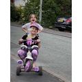Mollie and Niamh having fun