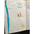Ruby's water cycle work