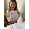 Megan's 60 second reading challenge