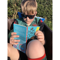 Roman reading in the sun