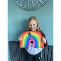 Fabulous rainbow Macie!