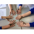 Henna patterns from India