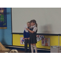 Y2 singers, Olivia and Amber.
