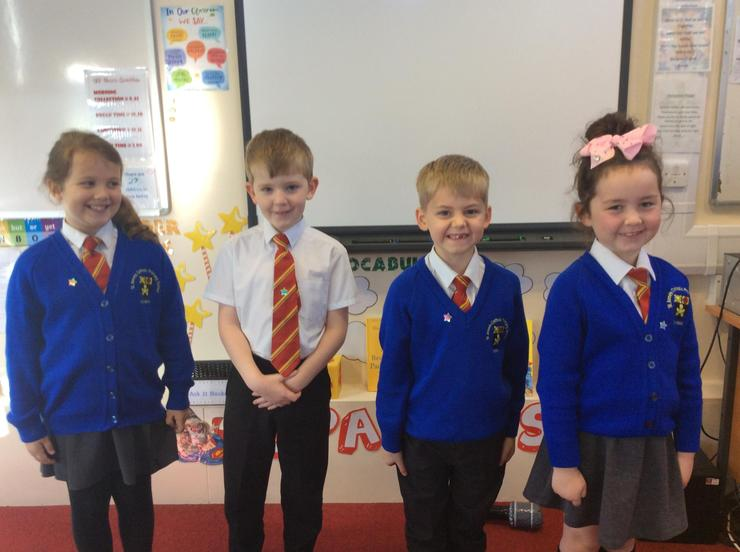 Our High Achievers this week.