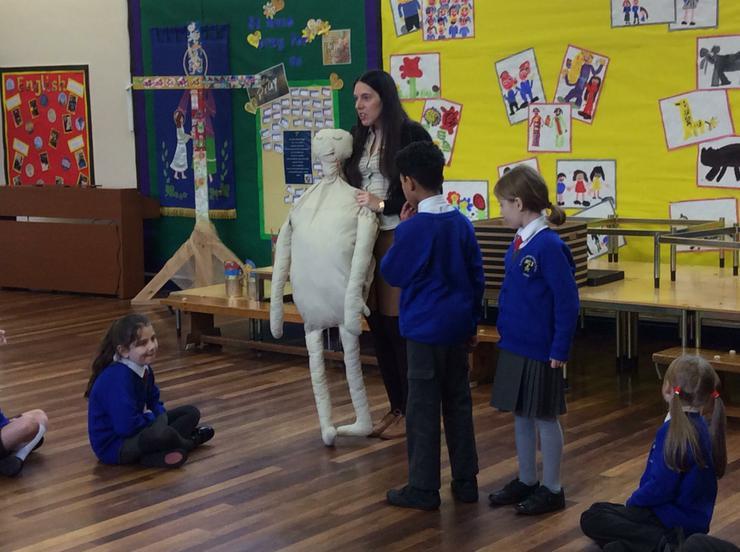 Introducing the mummy!