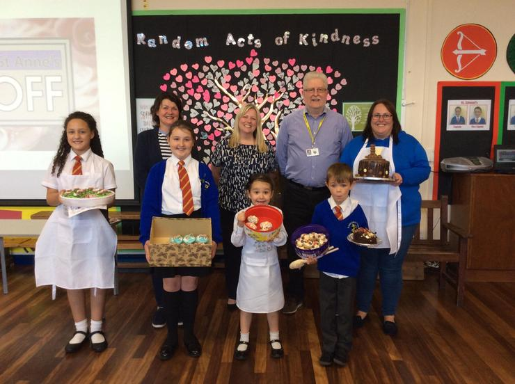 Star Bakers, Runner Ups with Judges