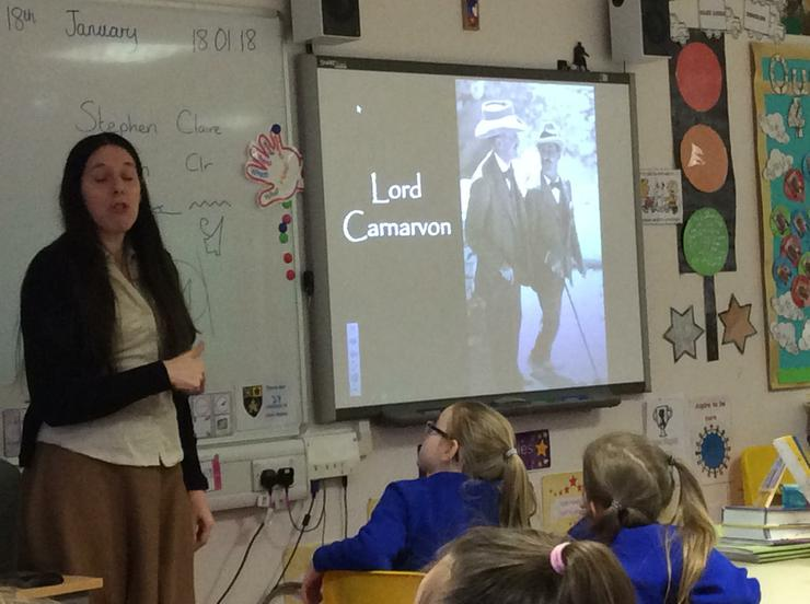 Finding out about Howard Carter and Lord Carnarvon