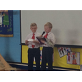 The Y3 jokers - Harley and Harry.