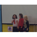 Y2 singers - Agness, Evelyn and Katie.