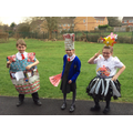 Y4's trashion victims!
