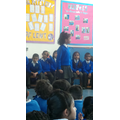 Our class assembly for Lent.