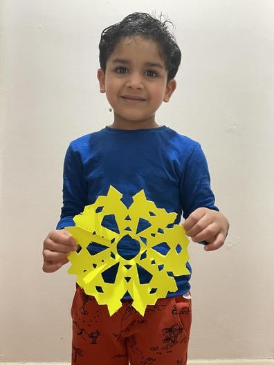 Nursery - Faegan's Snowflake