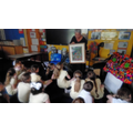 We enjoyed a talk about Mayan art