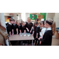 Cornflour and water Liquid or solid?